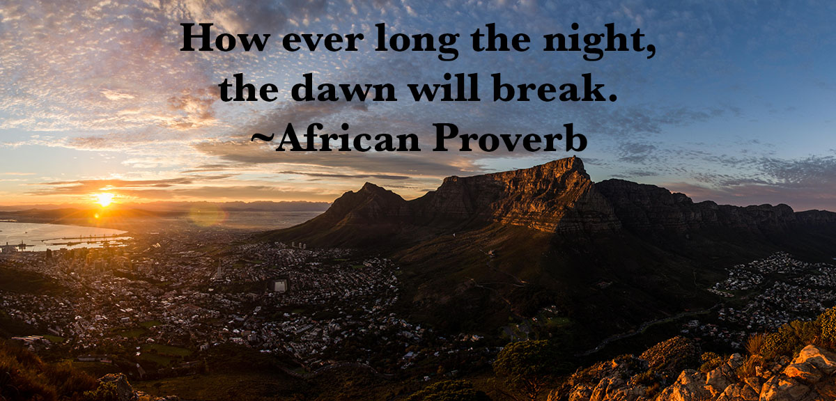 African Proverbs about hope